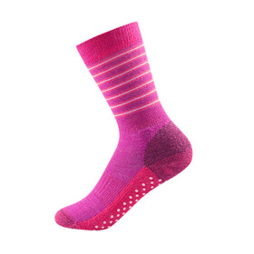 Devold Kids Multi Medium Sock Fuchsiastripe